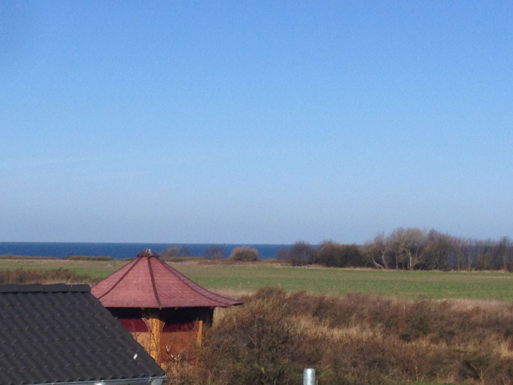 Blick auf die Ostseej